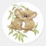 Cute Koalas Stickers