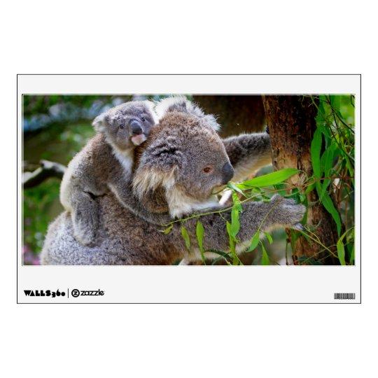 Cute Koalas Wall Decal