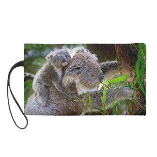 Cute Koalas Wristlet Purse