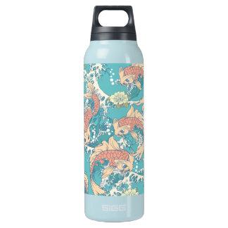 Cute Koi Insulated Water Bottle