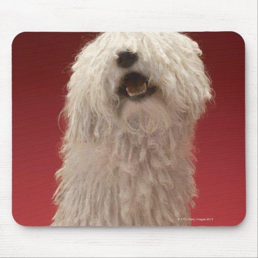Cute Komondor Dog Mouse Pad