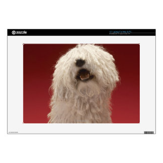 Cute Komondor Dog Skins For Laptops
