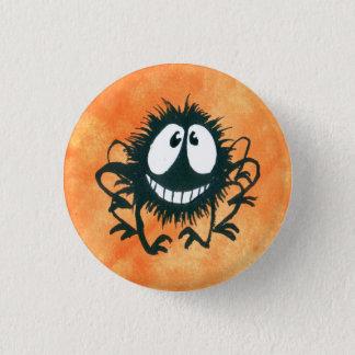 Cute Kooky Halloween Spider Button! Pinback Button