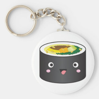 Cute Korean Gimbap Keychain