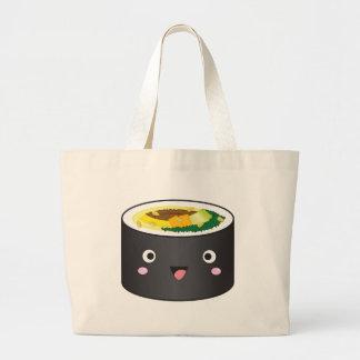 Cute Korean Gimbap Large Tote Bag