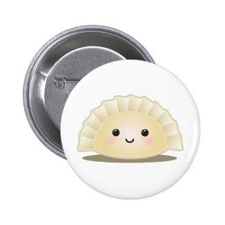 Cute Korean Mandu Button