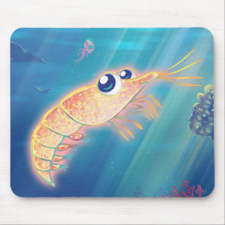 Cute Krill Mouse Pad