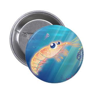 Cute Krill Pinback Button