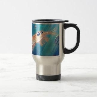 Cute Krill Travel Mug