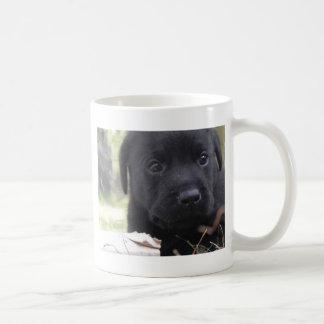 Cute labrador puppy coffee mug
