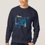 Cute Labs Dog Breed Embroidered Sweatshirt