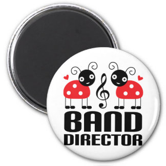 Cute Labybug Band Director Design Magnet