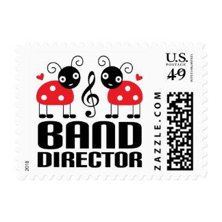 Cute Labybug Band Director Design Postage