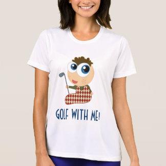 Cute Ladies Golf With Me Tee