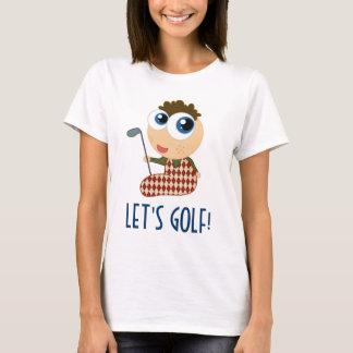 Cute Ladies Golfing Tee