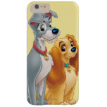 Cute Lady and the Tramp Barely There iPhone 6 Plus Case
