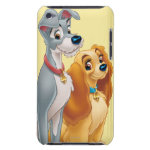 Cute Lady and the Tramp Barely There iPod Cases