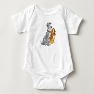 Cute Lady and the Tramp Disney Shirt
