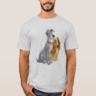 Cute Lady and the Tramp Disney T-Shirt