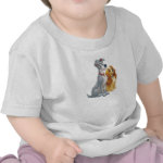 Cute Lady and the Tramp Disney Tee Shirt