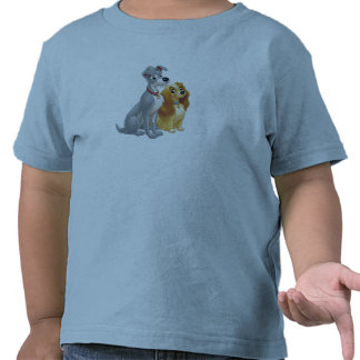 Cute Lady and the Tramp Disney Tees