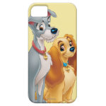 Cute Lady and the Tramp iPhone 5 Case