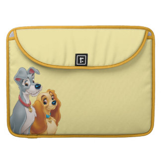 Cute Lady and the Tramp Sleeve For MacBook Pro