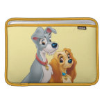 Cute Lady and the Tramp MacBook Sleeve