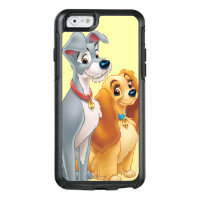 Cute Lady and the Tramp OtterBox iPhone 6/6s Case