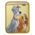 Cute Lady and the Tramp Sleeve For iPads