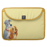 Cute Lady and the Tramp Sleeves For MacBook Pro