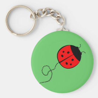 Cute Lady Bug Keychain
