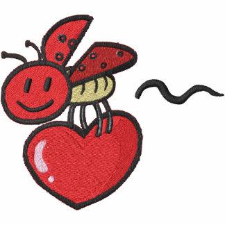 Cute Lady Love Bug Pocket