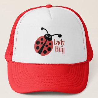 Cute Ladybug Animal Print Trucker Hat