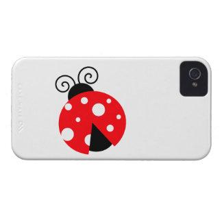 Cute Ladybug iPhone 4 Case-Mate Cases