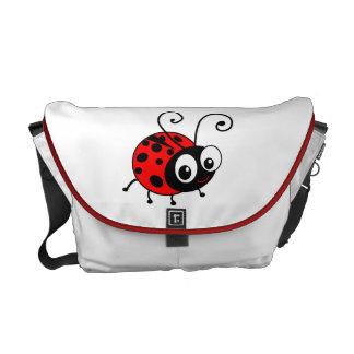 Cute ladybug courier bag