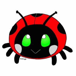 cute ladybug cutout