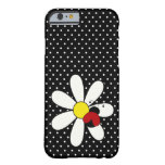 Cute Ladybug Daisy Barely There iPhone 6 Case