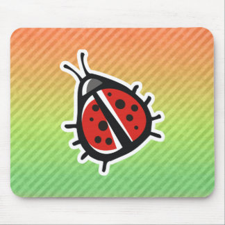 Cute Ladybug Design Mousepad
