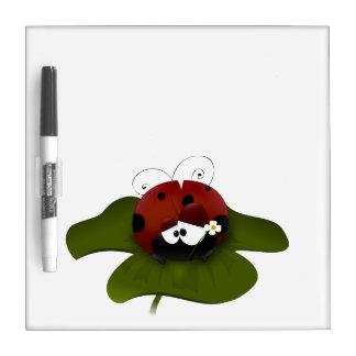 Cute Ladybug Dry-Erase Board