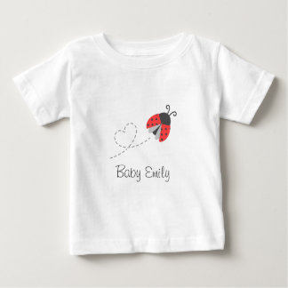 Cute Ladybug for Baby Girls Baby T-Shirt