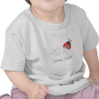 Cute Ladybug for Baby Girls Tee Shirt