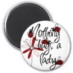 Cute Ladybug Fridge Magnet