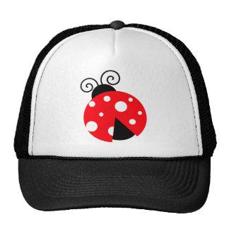Cute Ladybug Mesh Hats