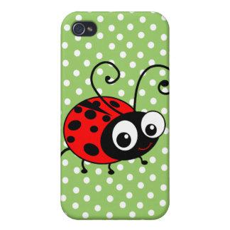 Cute Ladybug iPhone 4/4S Cases