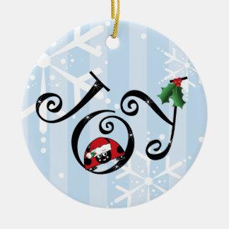 Cute Ladybug Joy Ornament