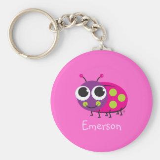 Cute Ladybug Keychain