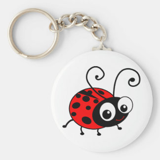 Cute Ladybug Keychains