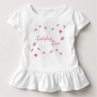 Cute Ladybug Love Toddler T-shirt