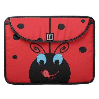 Cute Ladybug MacBook Pro Sleeves